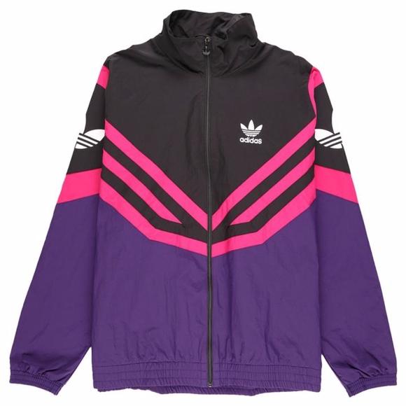 Adidas Sportive Track Jacket EJ0948 Purple Black